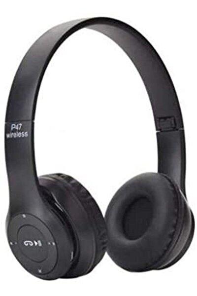 P47POL Bluetooth Kulaklık Mp3 Fm Solo 2 Beats Model Kulaküstü