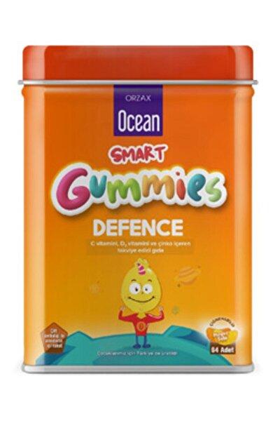 Smart Gummies Defence C Vitamini , D3 Vitamini Ve Çinko Içeren Takviye Edici Gıda 64 Jel Tablet