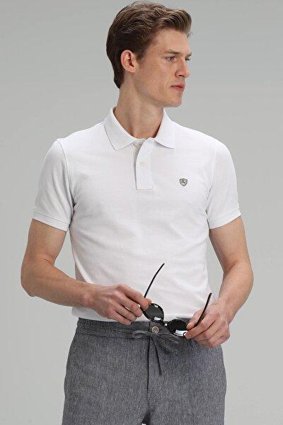 Laon Spor Polo T- Shirt Beyaz