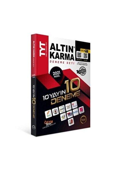 Altın Karma Tyt 10 Yayın 10 Deneme Seti