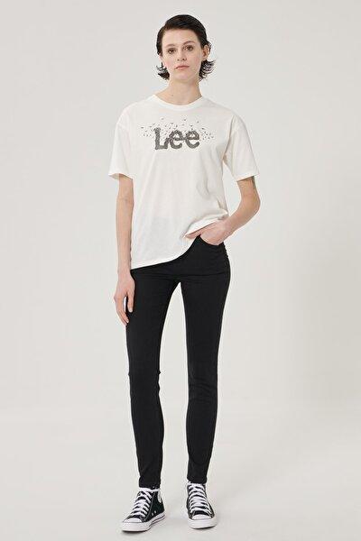 Kadın Siyah Scarlett High Skinny Fit Denim Esnek Jean Kot Pantolon