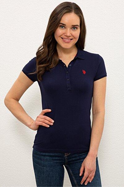 Kadın  Lacivert  Polo T-shırt 1227451
