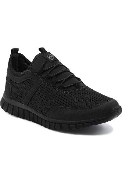 Erkek Siyah Günlük Ortopedik Sneaker D1906