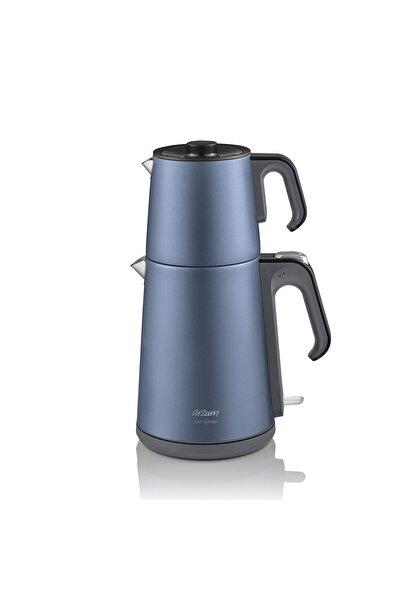 Ar3080-o Çay Sefası Okyanus 1650 w Çelik Çay Makinesi