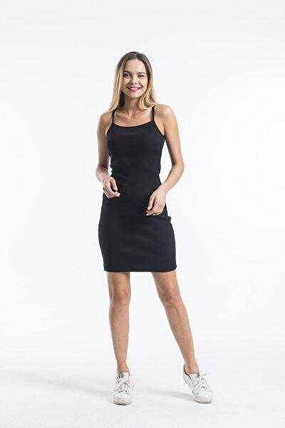 Ip Askılı Mini Kaşkorse Elbise