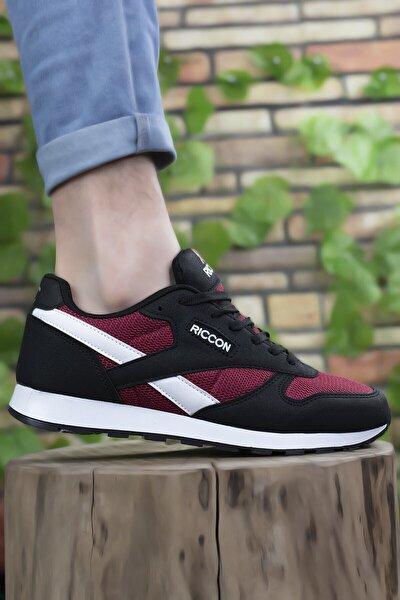 Siyah Bordo Unisex Sneaker 0012853