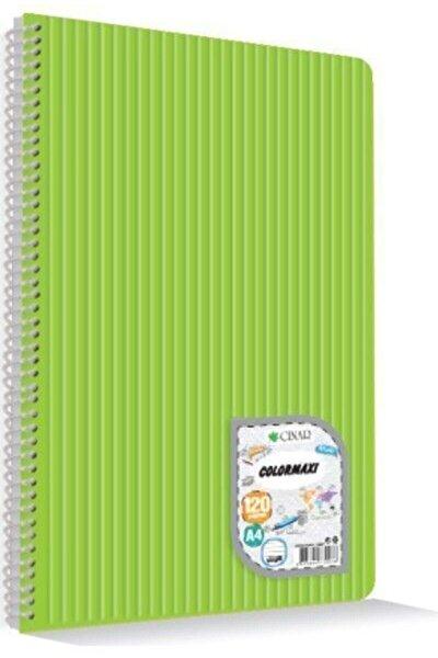 Uninote Colormaxı A4 Sp.pp Kapak 120 Yp. Çizgili Okul Defteri Asorti 1 Ad