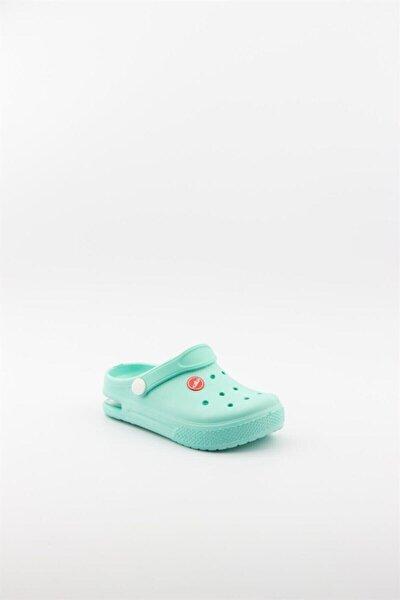 Çocuk Mavi Air Taban Işıklı Sandalet Terlik