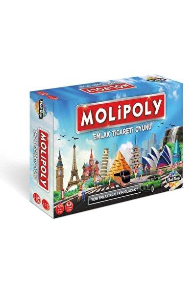 Molipoly Monopoly Monopoli Metropol Mega City Emlak Ticaret Oyunu Aile Oyunu Yeni Model
