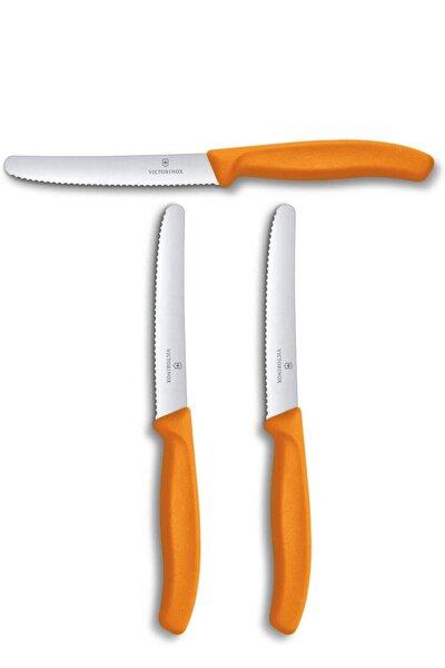 Evrekala Özel Turuncu Bıçak Seti Büyük