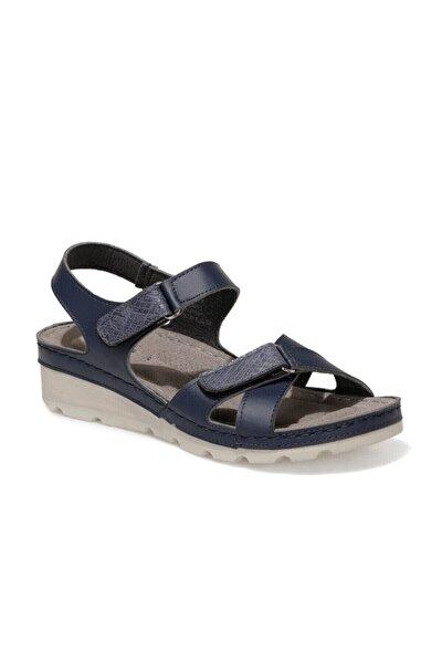 161957.Z1FX Lacivert Kadın Sandalet 101020001