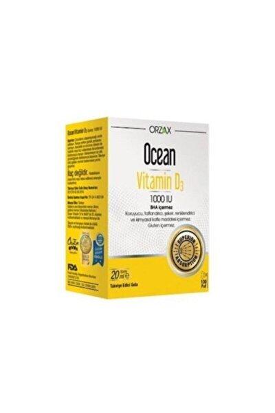 Ocean Vitamin D3 1000 Iu Oral Sprey 20 ml