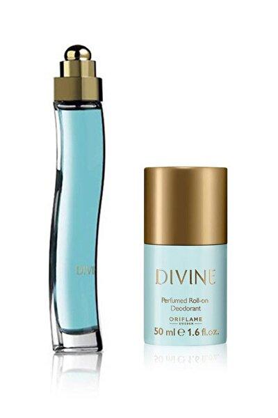 Divine Edt 50 Ml Kadın Parfümü + Deodorant 5262645956164
