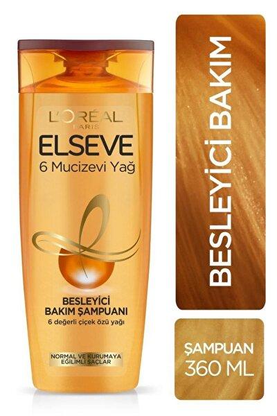 6 Mucizevi Yağ Bakım Şampuanı 360 ml
