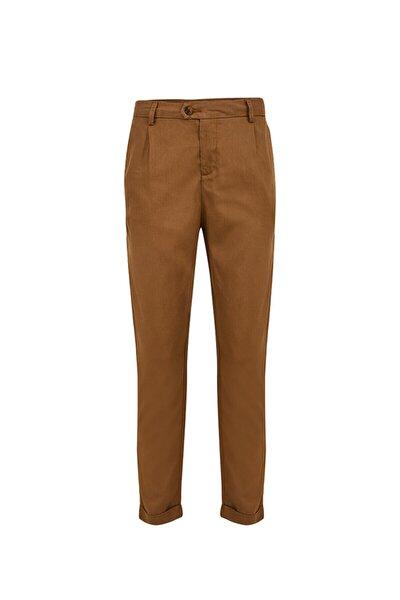 Temocı Rustıc Brown Pantolon