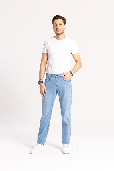 Erkek Açık Mavi Jake Denim Pantolon
