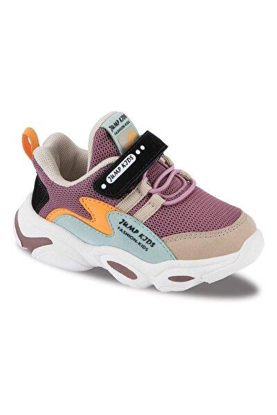 Çocuk Spor Ayakkabı 25833 F Purple/beıge/mınt