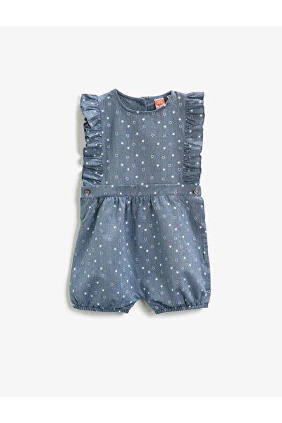 Kız Bebek Mavi Tulum