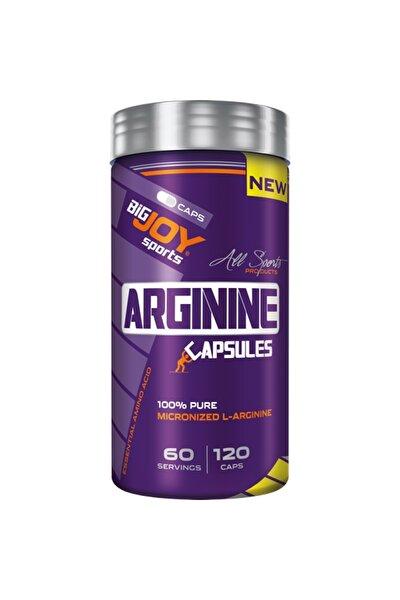 Bigjoy Sports Arginine 120 Kapsül