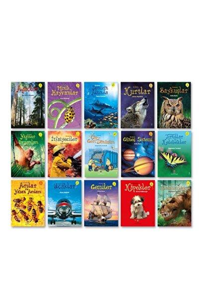 Tübitak Popüler Bilim Ilk Okuma Kitapları 15 Kitap Set (7+ Yaş) Set 1