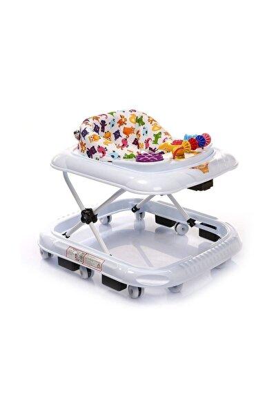 Kikkoro Speedy Tekerlekli Bebek Yürüteci Beyaz /