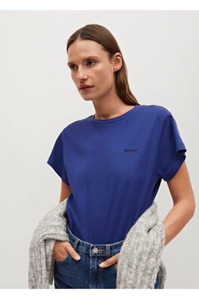 Organik Pamuklu Logolu Tişört