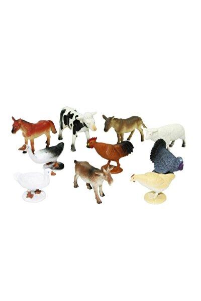 Kutulu 10 Parça Hayvan Seti Çiftlik Hayvanları