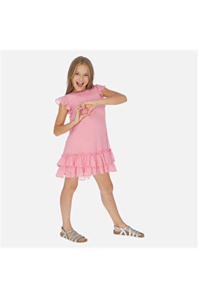 Yazlık Kız Kısa Kol Elbise