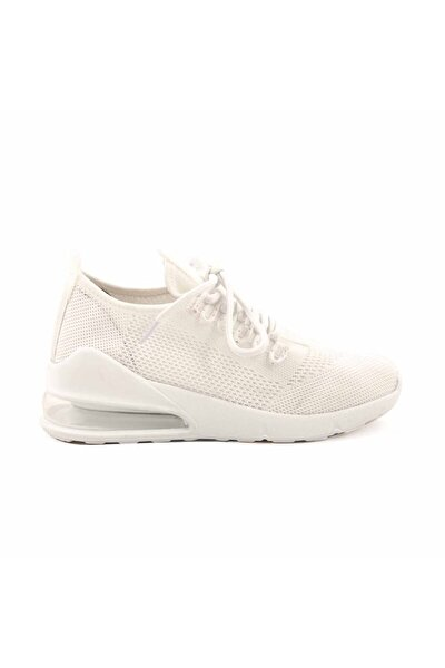 Kadın Beyaz Sneaker Aır1