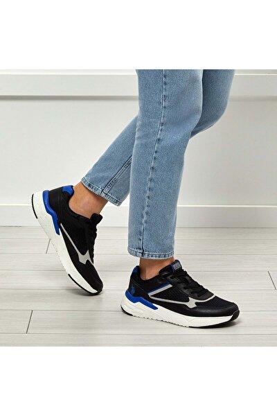 Erkek Günlük Spor Ayakkabısı - Siyah - Btmz000296-siyah-45