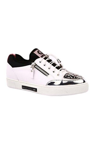 Kadın Spor Ayakkabı 19y300-4 - Beyaz - 36
