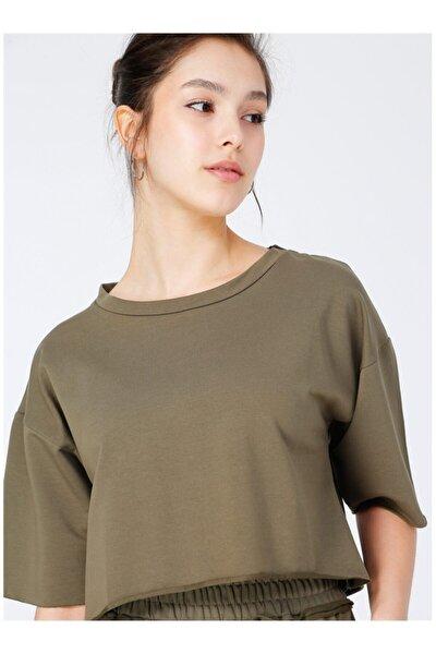 Kadın Haki T-Shirt
