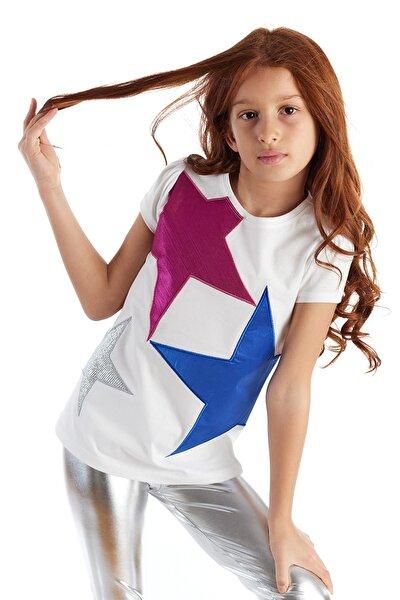 Yıldız Patch Tshirt Kısa Kol