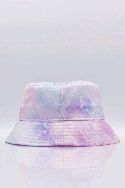 Space Bucket Şapka Balıkçı Şapkası Lila