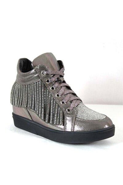 Kadın Spor Ayakkabı 17y122-7 - Gri - 37