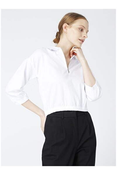 Kadın Beyaz Bluz