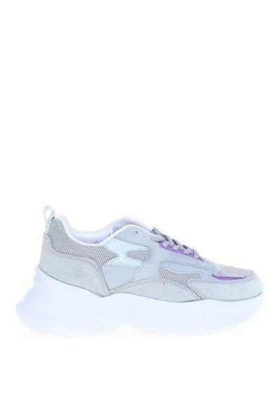Kadın Gri Spor Sneaker Ayakkabı