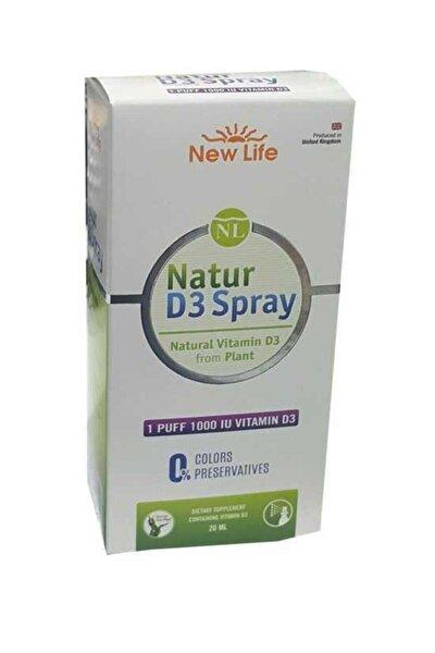 Natur D3 Sprey 1000 Iu 20ml