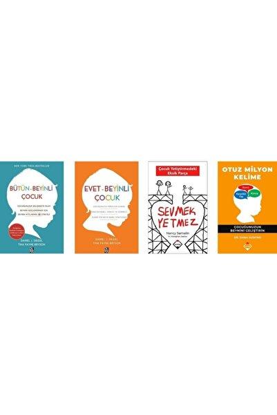 Bütün-beyinli Çocuk / Evet - Beyinli Çocuk / Sevmek Yetmez / Otuz Milyon Kelime ( 4 Kitap Set )