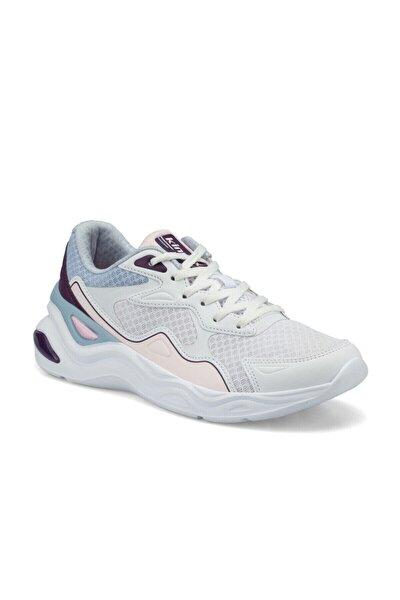 BOLGI W Beyaz Kadın Koşu Ayakkabısı 100502021