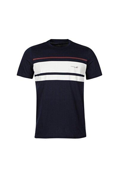 CT446 JEAN CLRBLOCK T-SHI Lacivert Erkek T-Shirt 100582743