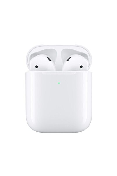 Beyaz İphone Uyumlu 2. Nesil Wireless Şarj Bluetooth Kulaklık Air/Pods2