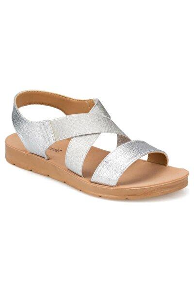 91.150787PZ Gümüş Kadın Sandalet 100374740
