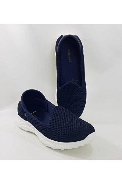 161541 Lacivert Renk Bağacaksız Günlük Bayan Spor Ayakkabı