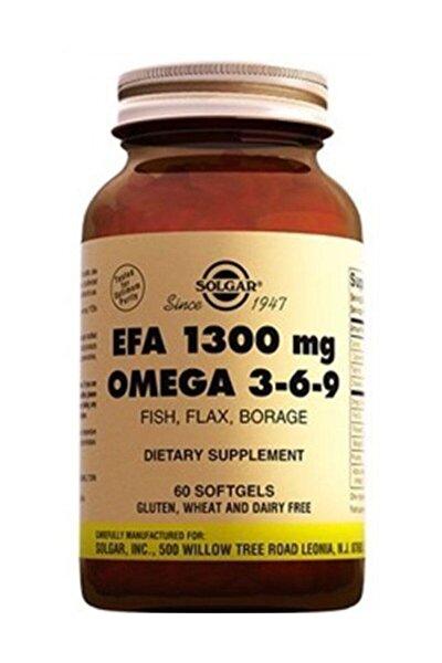Omega 3-6-9 Efa 1300 Mg Gıda Takviyesi 60 Kapsül