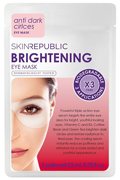 Brightening Eye Mask 3 Pairs 23ml