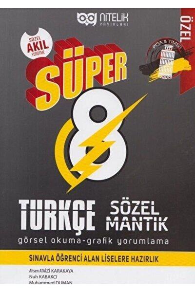 8. Sınıf Türkçe Süper Sözel Mantık Görsel Okuma Ve Grafik Yorumlama Soru Kitabı