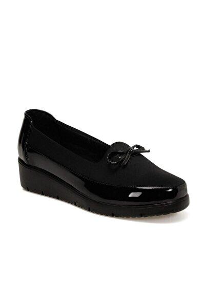 161312.R Siyah Kadın Comfort Ayakkabı 100548284