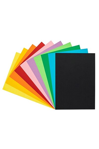 Fon Kartonu A4 120 gram Karışık 10 Renk
