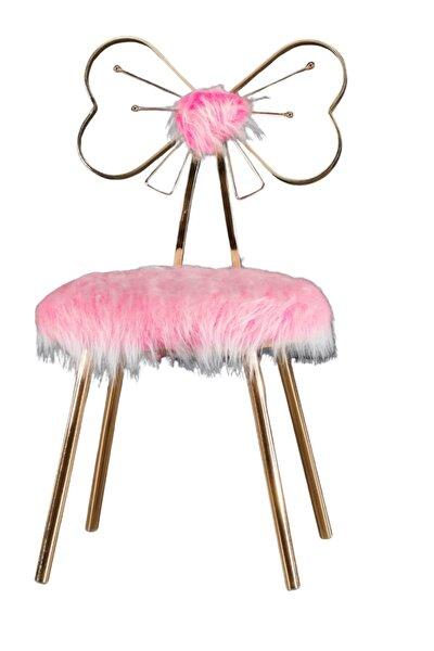 Kokosh Model Pembe Sandalye